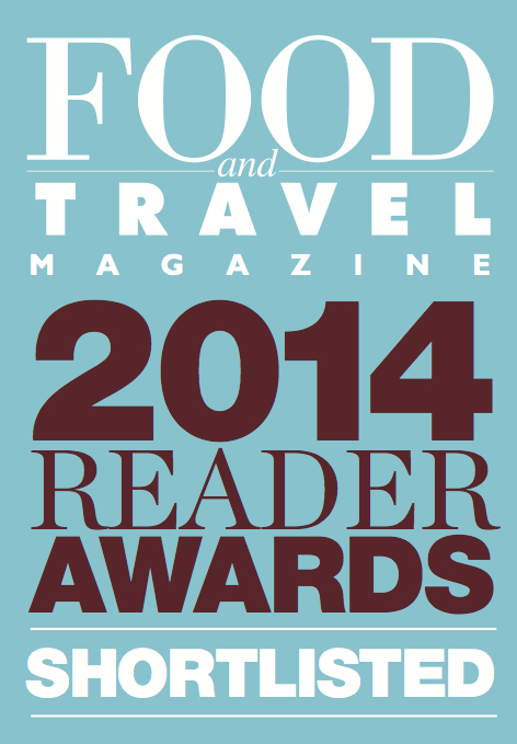 Food and Travel Awards 2014 - shortlist logo